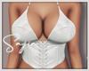 Ⓢ White Corset