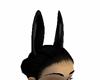 longblk PVC Horse Ears F