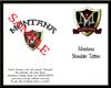 {M}Montana Shoulder Tatt