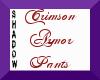 {SP} Crimson Armor Pants