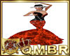 QMBR Flamenco Pansy OR