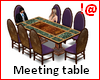 !@ Meeting table