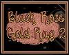 Black Rose Gold Rug 2