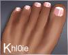 K natural flat feet nail