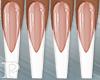 French White Nails