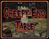 Creepy End Table/ Triggs