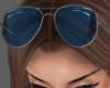 Blue Sunglasses Up..