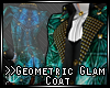 >>Geometric Glam Coat