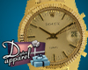 -D- Gold Rolex Watch