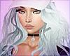 BlueHaze Hat Hair Curled
