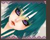 Teal Orika hair