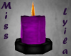 Anim purple candle