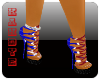 {K} Patriotic Heels