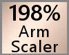 198% Arm Scaler F A