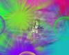 Animated Rainbow Bubbles