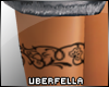 Floral Leg Band R