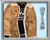 !!D Leather Bomber Jac