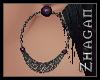 [Z] Rey Earrings Purple
