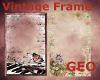 2 Vintage frames