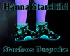 Star Shoes Turquoise