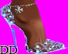 ~Rio~ Blue Diamond Shoes