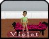 (V)hot pink bench
