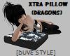 XTRA PILLOW ( DRAGONS )