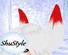 Kitsune Red/white ears