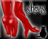 [CS] Red TippyToes Boots