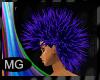 (MG)Rave Blue hair