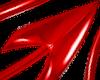 Devil Tail PVC red f