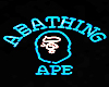 ABATHING APE ~ Neon Sign