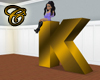 Letter K Seat