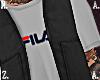 Vest + Fila Shirt