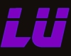 Lu Sticker Purple / Blue