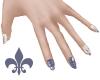 BW nails|IRIS