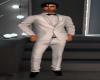 Full White Tuxedo Suit