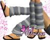 Grey Leg Warmers