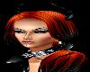 Alessandra Orange&Black