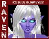 ICE BLUE GLOW EYES!