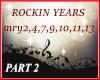 ROCKIN YEARS