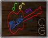 CG | Neon Music Sign