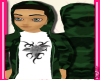 Dark Green Army Hoody