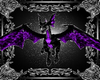 black purple dragon pet