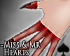 Cat~ Miss Hearts .Gloves