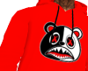 red BAWS hoodie