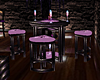 Purple Bar Table