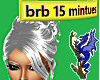 BRB AFK 15 Minutes anim