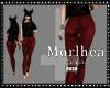 [MLA] Pant red dark