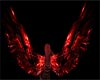 Animated Red Angel wings
